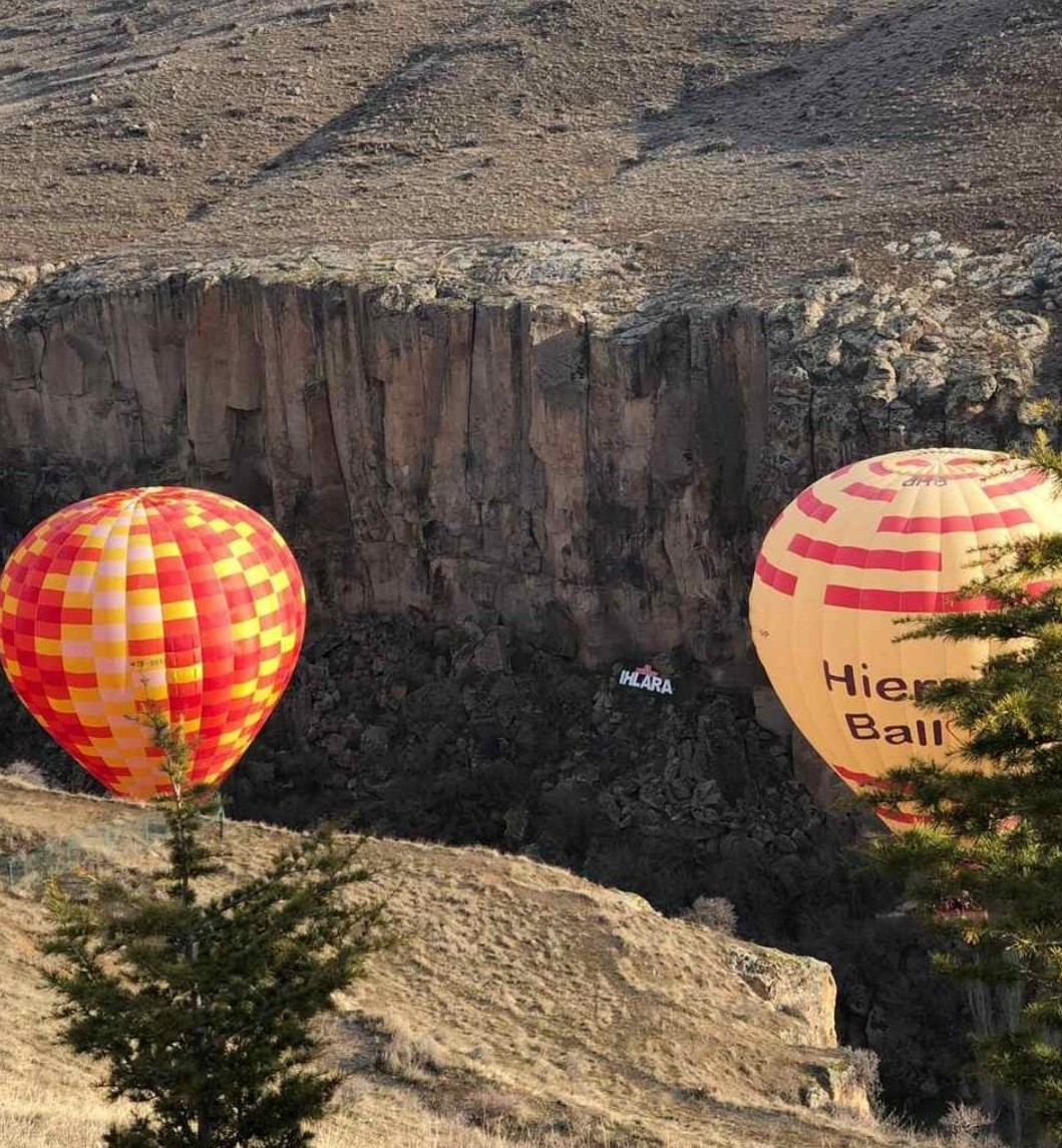 2 Days Cappadocia Tour with Hot Air Balloon (Afternoon Departure)